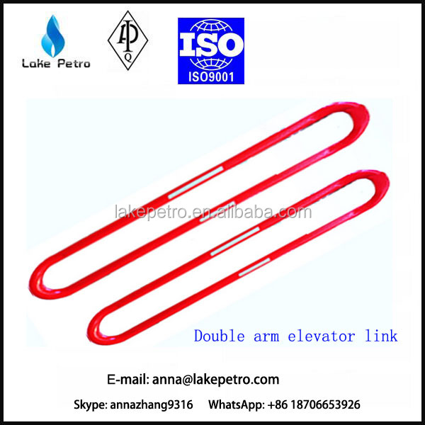 High quality and API standard Oil well drilling rig Double arm elevator links
