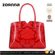 Korea fashion trend tote style offer high definition picture overnight purses leather lady handbag