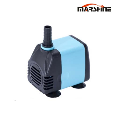 Horizontal plastic centrifugal single-stage submersible pump