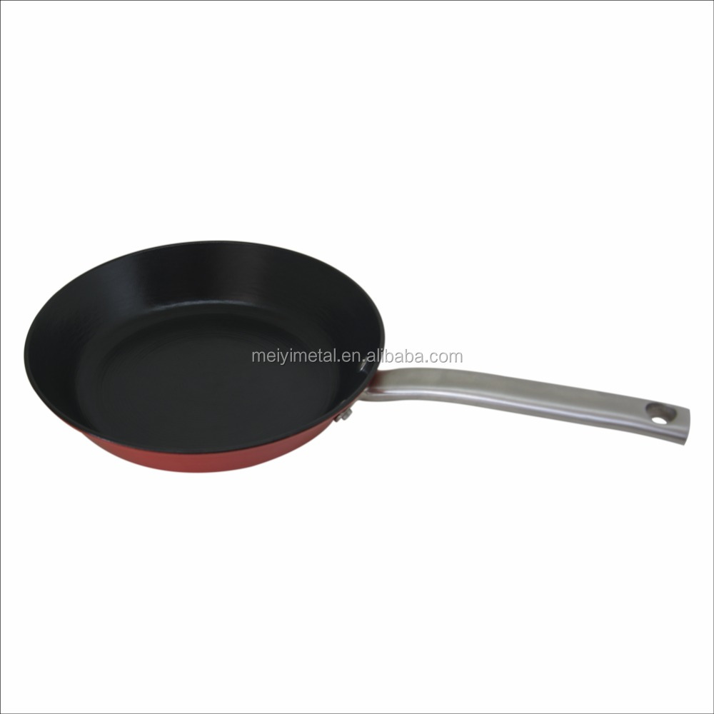 Non Stick Pan Double Sided Pan Frying 20cm 24cm With Long Handle