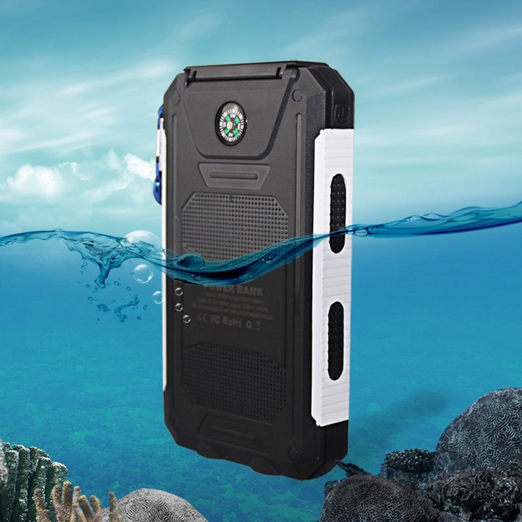 2017 compass battery solar power bank for mobile phone