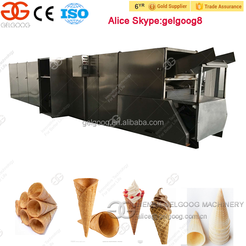 Ice Cream Cone Production Line Icecream Cone For sale