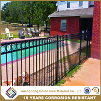 China Supplier Security Pool Fence Aluminum