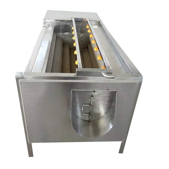 potato washing and peeling equipment onion cleaning and peeling machine