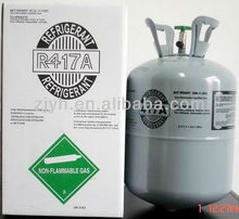 Disposable cylinder 25lb/11.3kg R417a refrigerant gas for sale