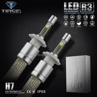 new products car accessories 40W led auto headlight H7 led headlight conversion kit for automobile & motorcycle