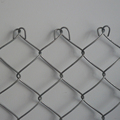 Bad weather resistant chain link fence fittings for residential yards