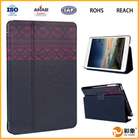 Tablet Leather Case with Hand Strap for Ipad Mini 4