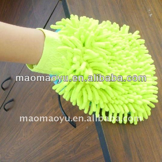 Microfiber Chenille Car Cleaning Washing Mitt