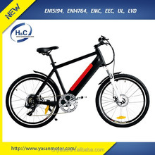 250w 500w Electric Bike with Hidden battery 36v10ah Lithium e road electric bike chinese