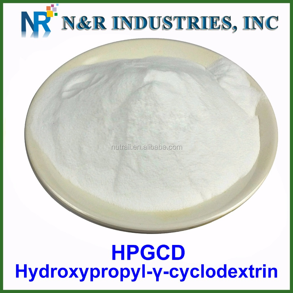 Pharmaceutical grade hydrxypropyl- gamma-cyclodextrin 98% CAS:128446-34-4