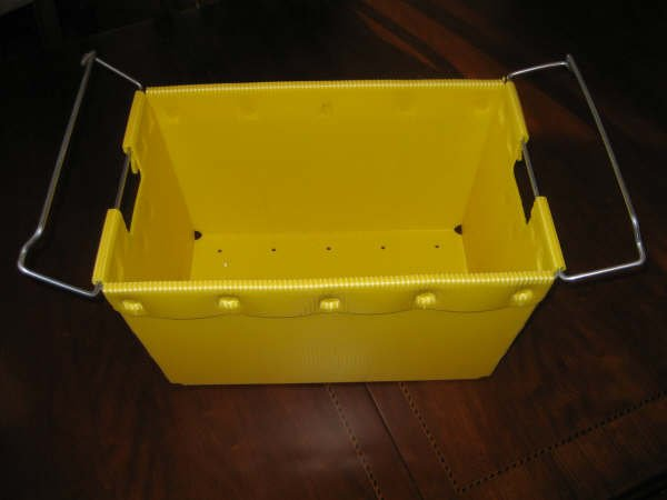 Plastic carrying tool case