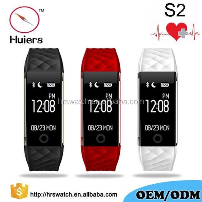2017sport heart rate bracelet sleep tracker digital watch android bluetooth smart watch with heart monitor
