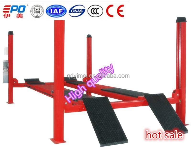 Four post car lift for sale used 16