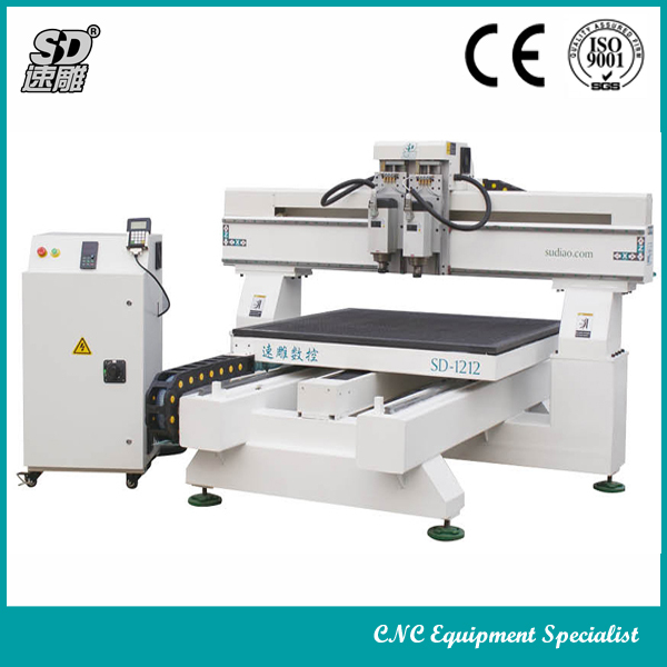 JINAN SUDIAO Led Luminous Character Processing Cnc Router For Advertising SD-1212
