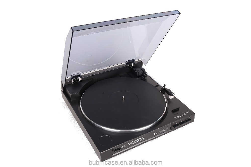 VOXOA Good quality Stereo Vinyl LP USB Turntable record player Vinyl Record/ Gramophone USB Digital converter Turntable Player