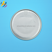126.5mm tin can easy open lid /foil end /metal cap