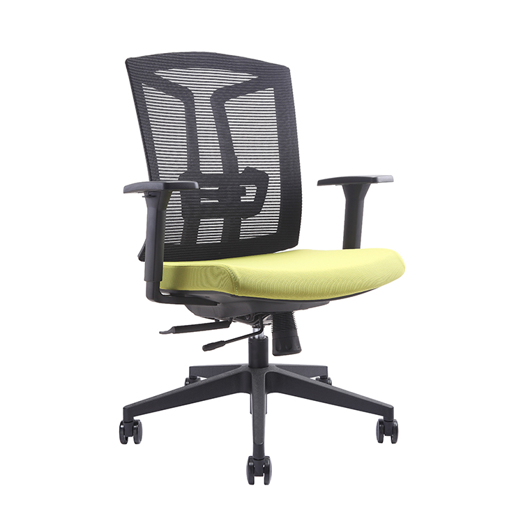 2018 cheap price modern design mesh office staff chair custom computer chairs revolving office chairs