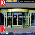 double glass aluminium auto sliding door