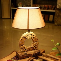 antique flower design tiffany table lamp for hotel