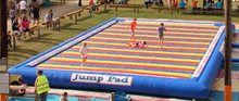 inflatable jump pad,hight quality inflatable jump pad for kid