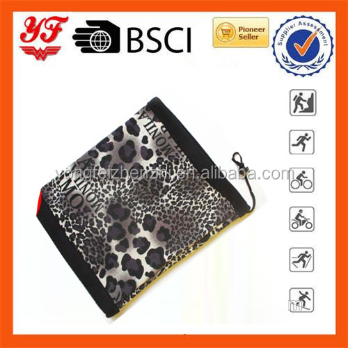 Reversible outdoor Leopard print Multifunctional cheap wholesale neck warmer