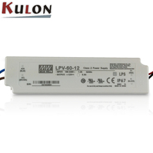 MEANWELL LPV-60-12 60W 12V 5A constant voltage circuit dc power supply