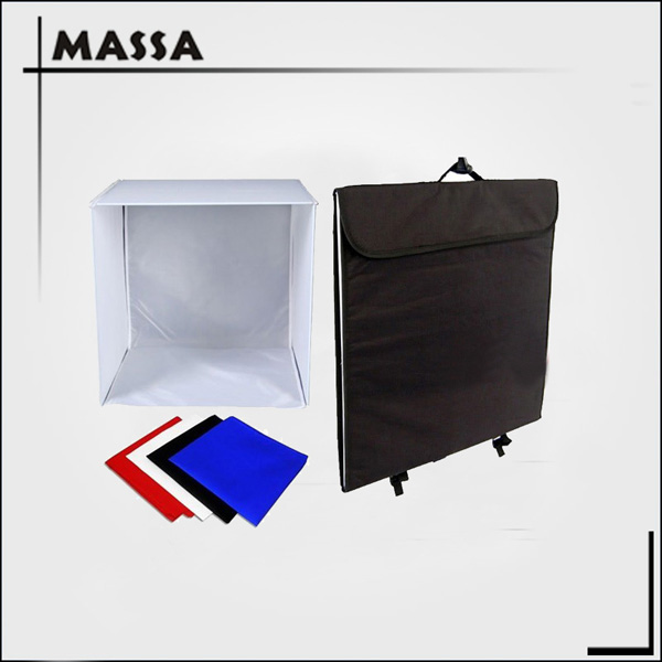 Massa Portable photography equipment 40*40*40cm photo studio light tent kit soft box