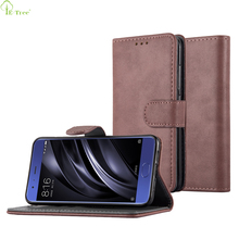 Folio Magnetic 3 Card Holder Flip Wallet Leather Case For Xiaomi Mi 6
