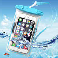 Wholesale Hot Selling IPX8 Certified Luminous Universal Cell Phone Waterproof Bags,Luminous Waterproof Pouch Case