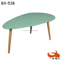 Home Design Furniture Korea Green Colorful Modern Small Cofffee Tables