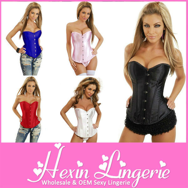 Wholesale high quality sexy busty corset lingerie