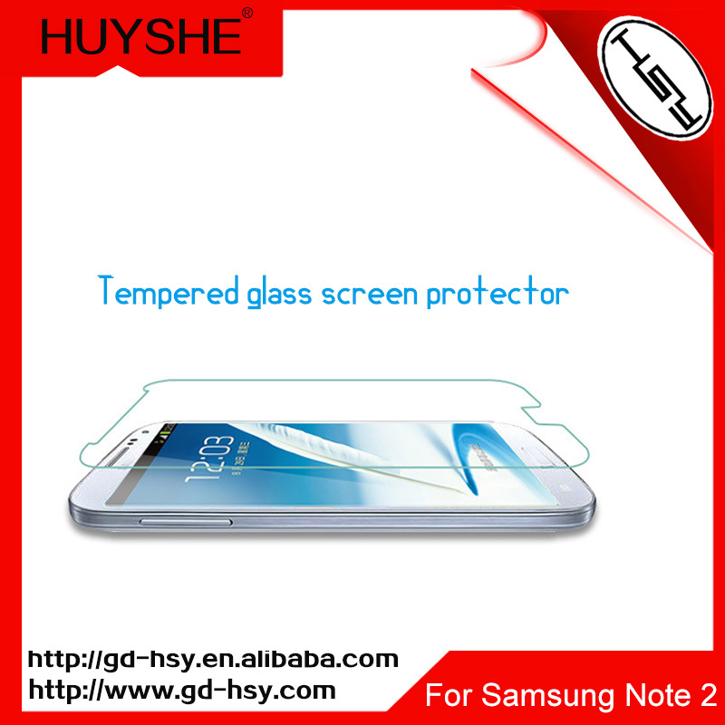 HUYSHE Screen protector for samsung note2,protect your smart phone