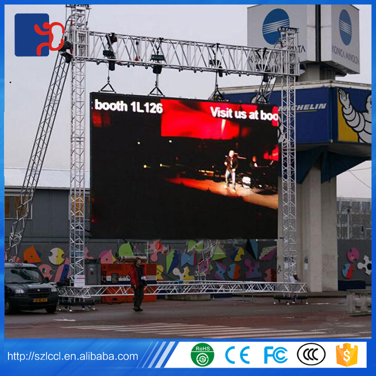 High performance P3.91 P4 P4.81 P5 P6 P8 P10 outdoor large advertising full color led display for rental