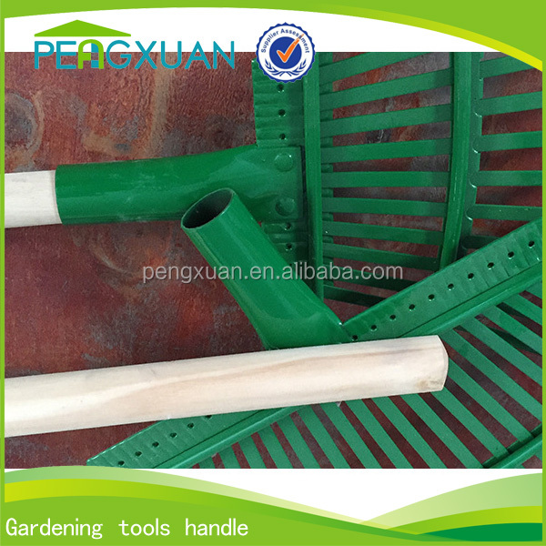 wholesale 3.5*120cm or 3.6*120 cm garden tools wooden stick rake