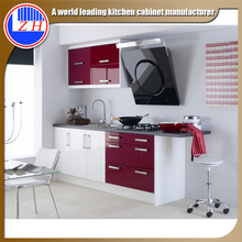 factory offer whole kitchen cabinet set modern style pantry wood cupboard design