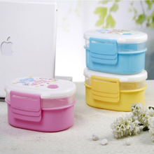 1007482 layer lunch box ,double layer lunch box,japanese food container