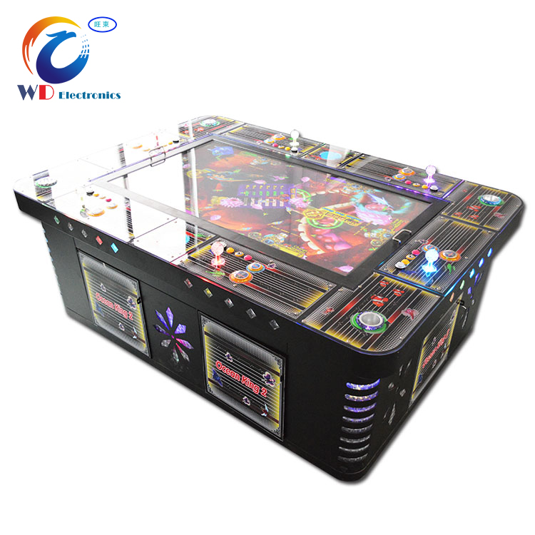 Video skill fishing game / kufu panda fish hunter arcade machines for sale