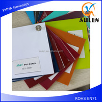 1220*2440*1.5mm virgin pvc sheet high gloss pvc laminate sheet