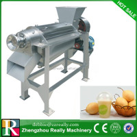Pear spiral juicing machine stainless steel grape press machine