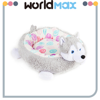 Removable Plush Animal Shaped Pet Bed Super Soft Sponge Dog Kennel