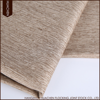 In stock sale polyester slubbed blackout fabric for hotel drapes