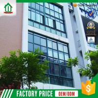 Aluminum Frame Clean Glass Curtain Wall Price