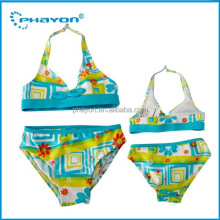 2014 lovely micro children swimwear/girl bikini/ sexy children bikini