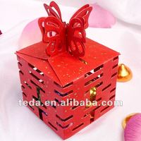 Double Happiness Red Wedding Party Candy Box Favor Gift Boxes
