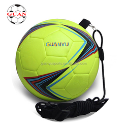 Factory supply newest sport entertainment PVC foam soccer ball with rope