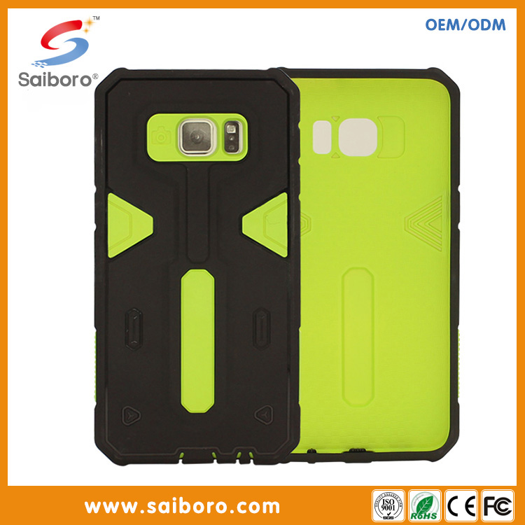 new design protective phone cases from china manufacturer for Samsung S7 armor pc tpu case