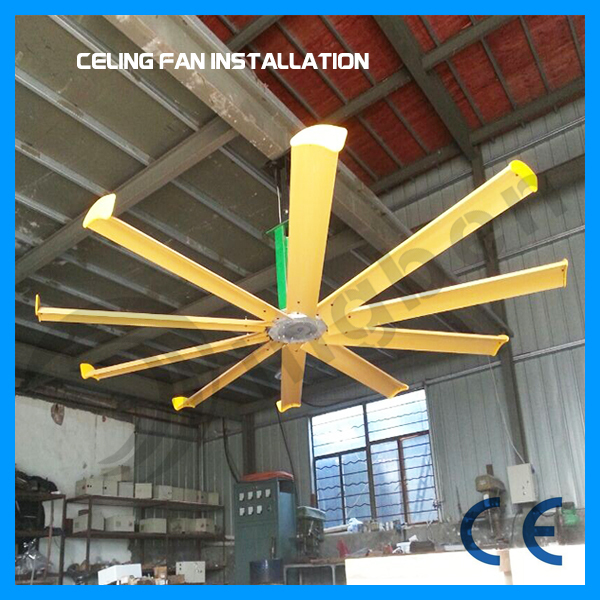 Industrial ceiling fan /motor metal blade ceiling fan/exhaust fan