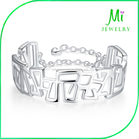 Fashion Magazine Popular Personality Hollow Geometry Bracelet