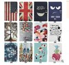 KLT OEM Customized Printed National Cartoon Cute Tablet PC Leather PU Stand Cover Case For Samsung Tab 4 8.0'' T320 T321 T325